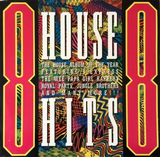 V/A - House Hits '88 (LP) (VG/VG)